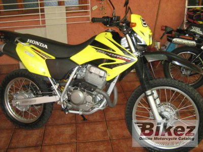 2008 Honda Xr 250 Tornado Specifications And Pictures
