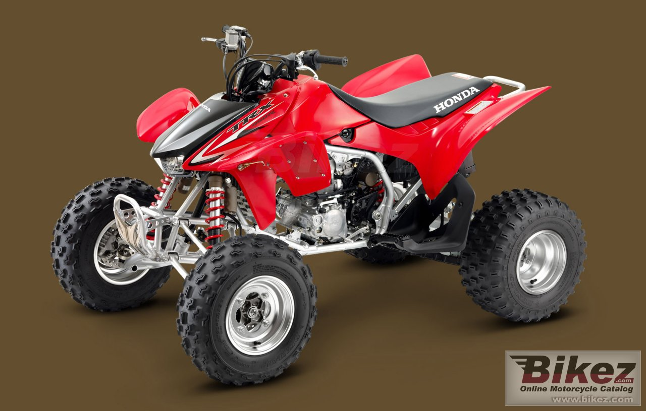 Honda TRX450R Kick Start