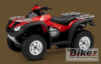 2009 Honda FourTrax Rincon GPScape photo