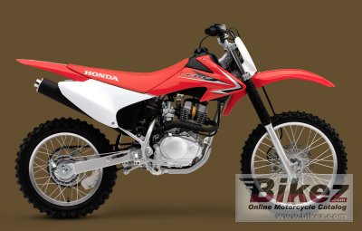 2009 Honda CRF150F specifications and pictures