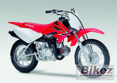 Stupendous 2009 Honda Crf70F Specifications And Pictures Machost Co Dining Chair Design Ideas Machostcouk