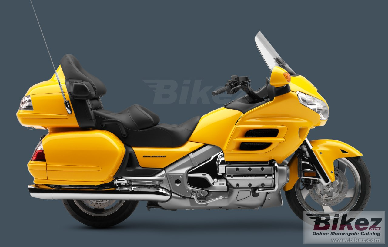 Big Honda gold wing audio comfort navi xm picture and wallpaper from Bikez.com