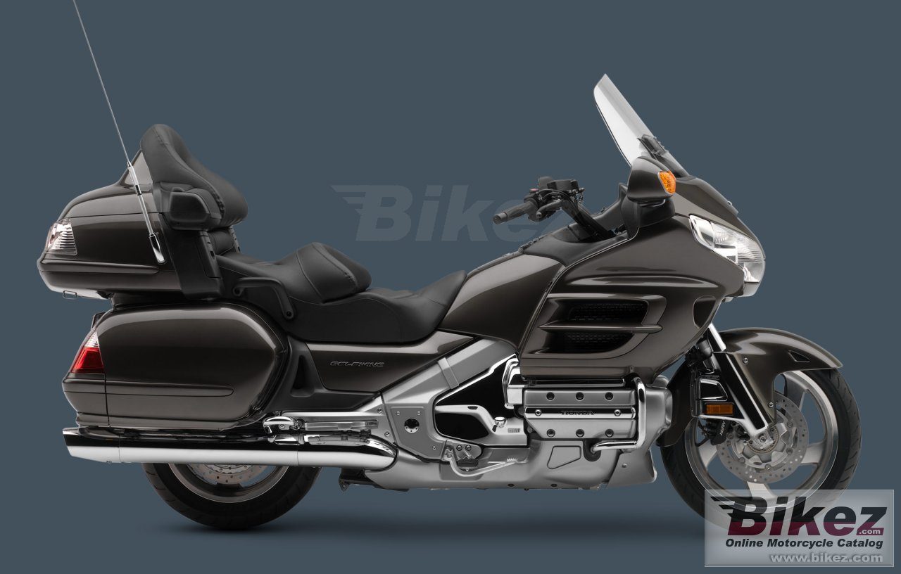 Big Honda gold wing audio comfort navi xm abs picture and wallpaper from Bikez.com