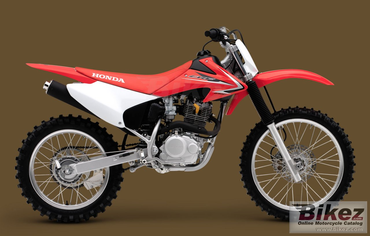 Big Honda crf230f picture and wallpaper from Bikez.com
