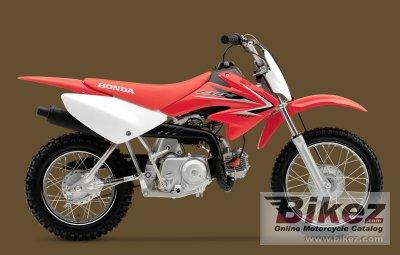 2010 Honda CRF70F photo