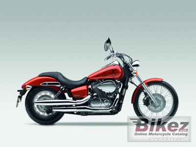 2010 Honda Shadow Spirit 750 specifications and pictures