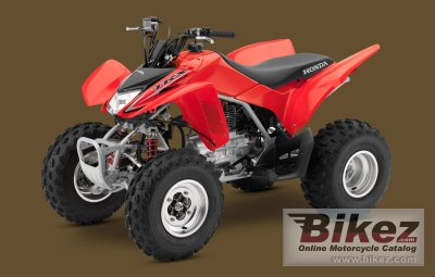 2010 Honda TRX250X specifications and pictures