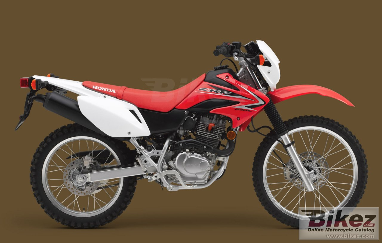 Big Honda crf230l picture and wallpaper from Bikez.com