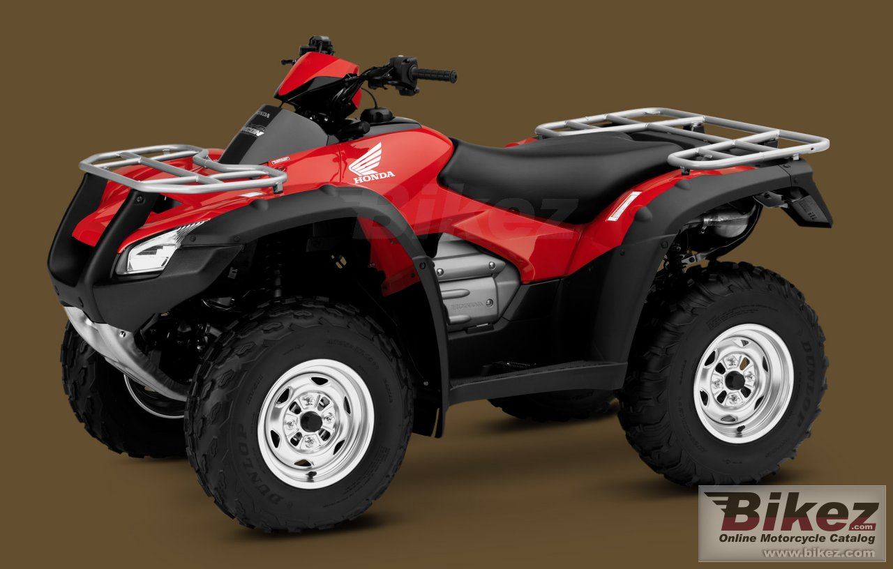 Big Honda fourtrax rincon picture and wallpaper from Bikez.com