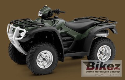 2011 Honda FourTrax Foreman Rubicon GPScape photo
