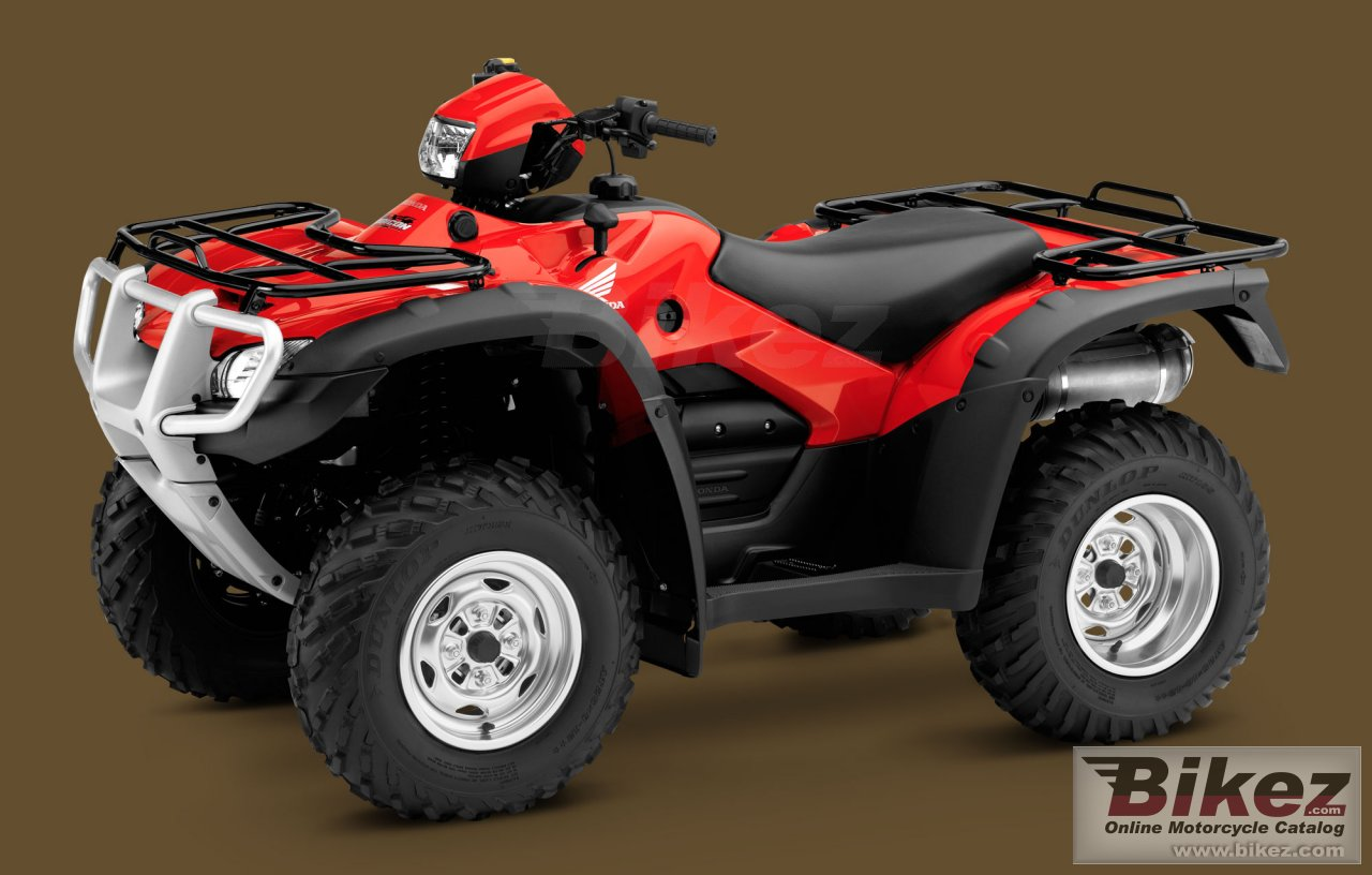 Big Honda fourtrax foreman rubicon gpscape picture and wallpaper from Bikez.com