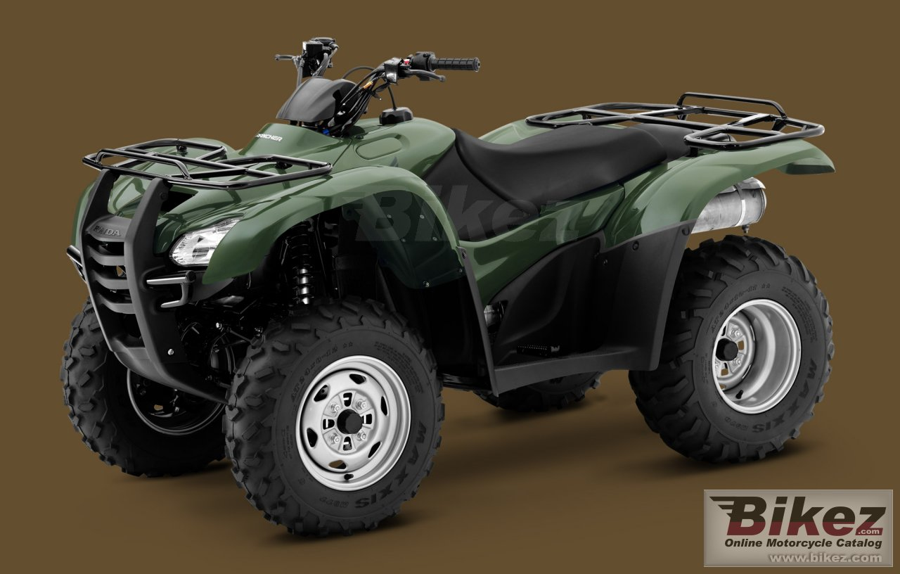 Big Honda fourtrax rancher picture and wallpaper from Bikez.com