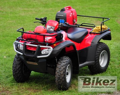 2011 Honda TRX500FE photo