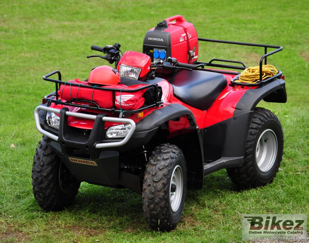 Big Honda trx500fm picture and wallpaper from Bikez.com