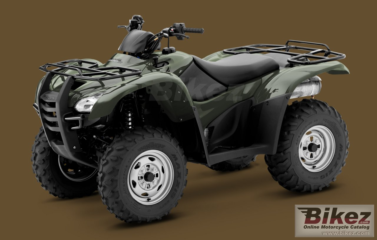 Big Honda fourtrax rancher at picture and wallpaper from Bikez.com