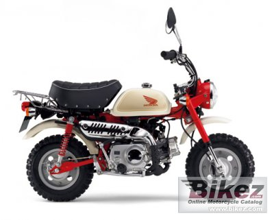 2011 honda monkey 50 specifications and pictures. Black Bedroom Furniture Sets. Home Design Ideas