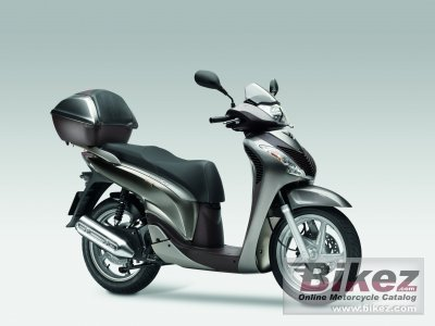 2011 Honda SH150i specifications and pictures