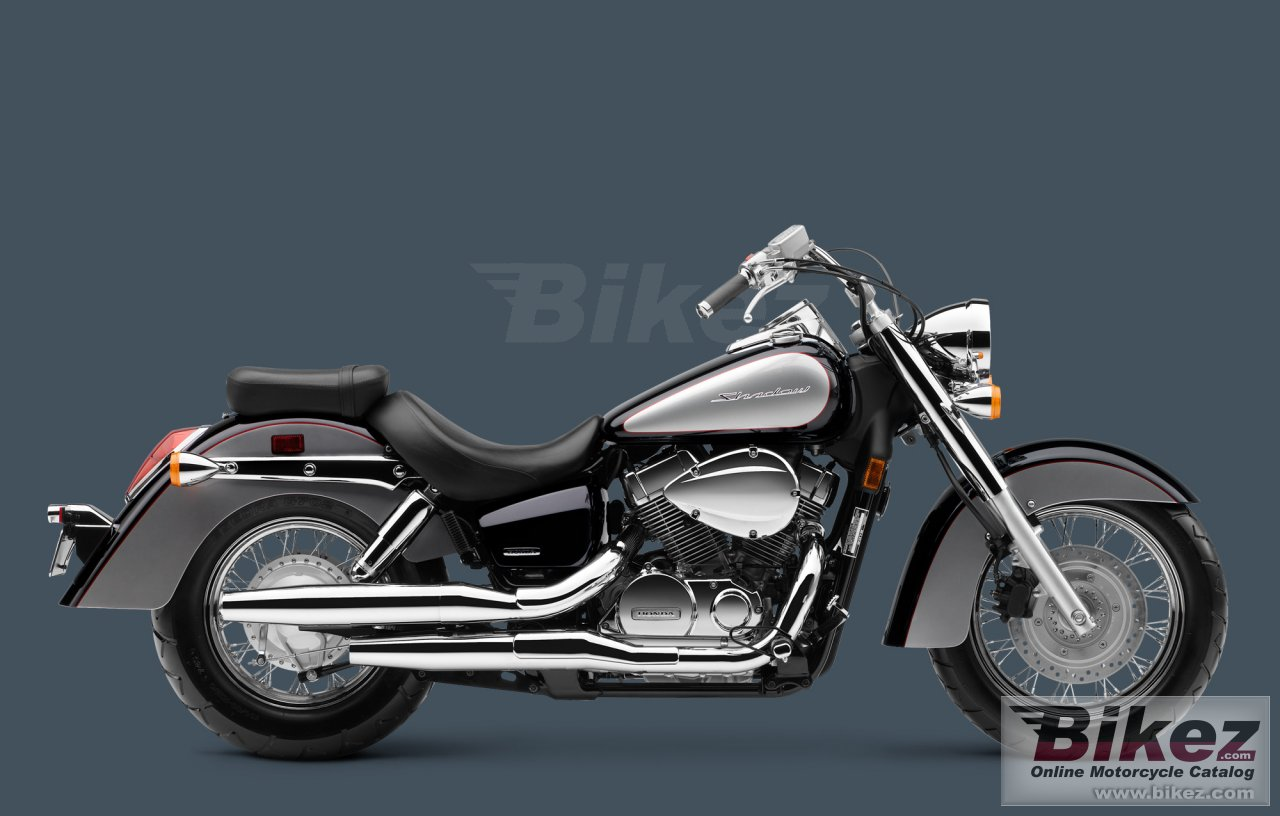 Big Honda shadow aero picture and wallpaper from Bikez.com