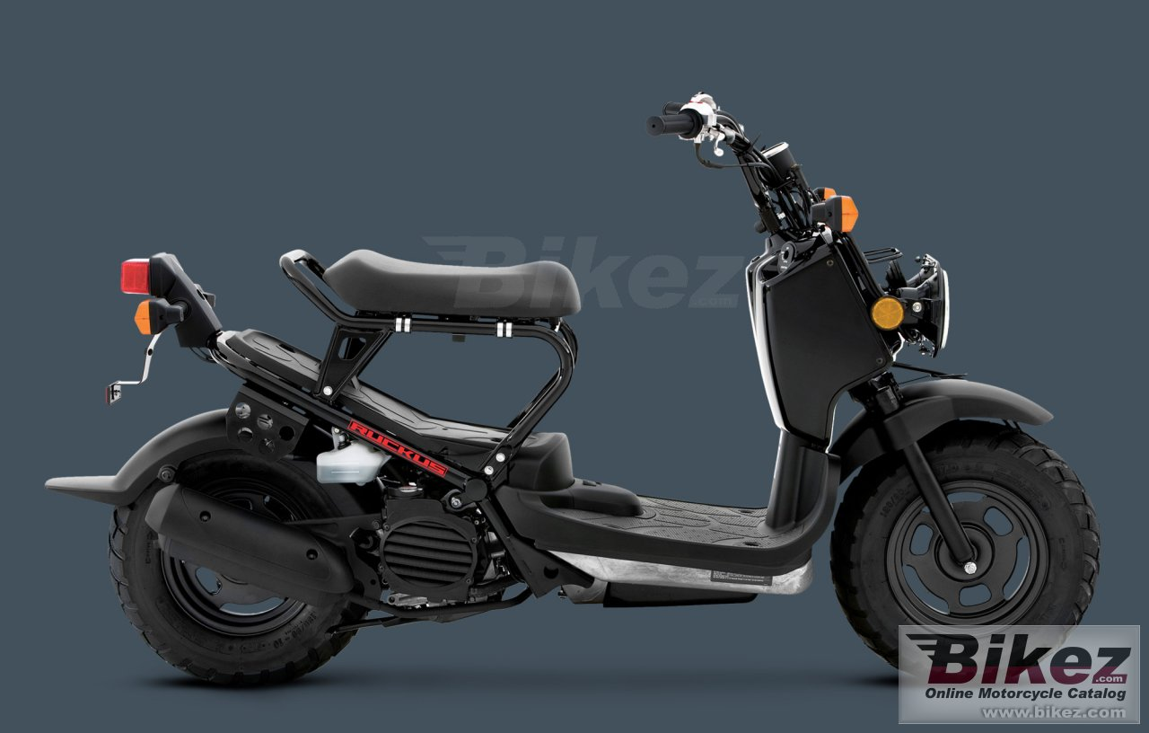 Big Honda ruckus picture and wallpaper from Bikez.com