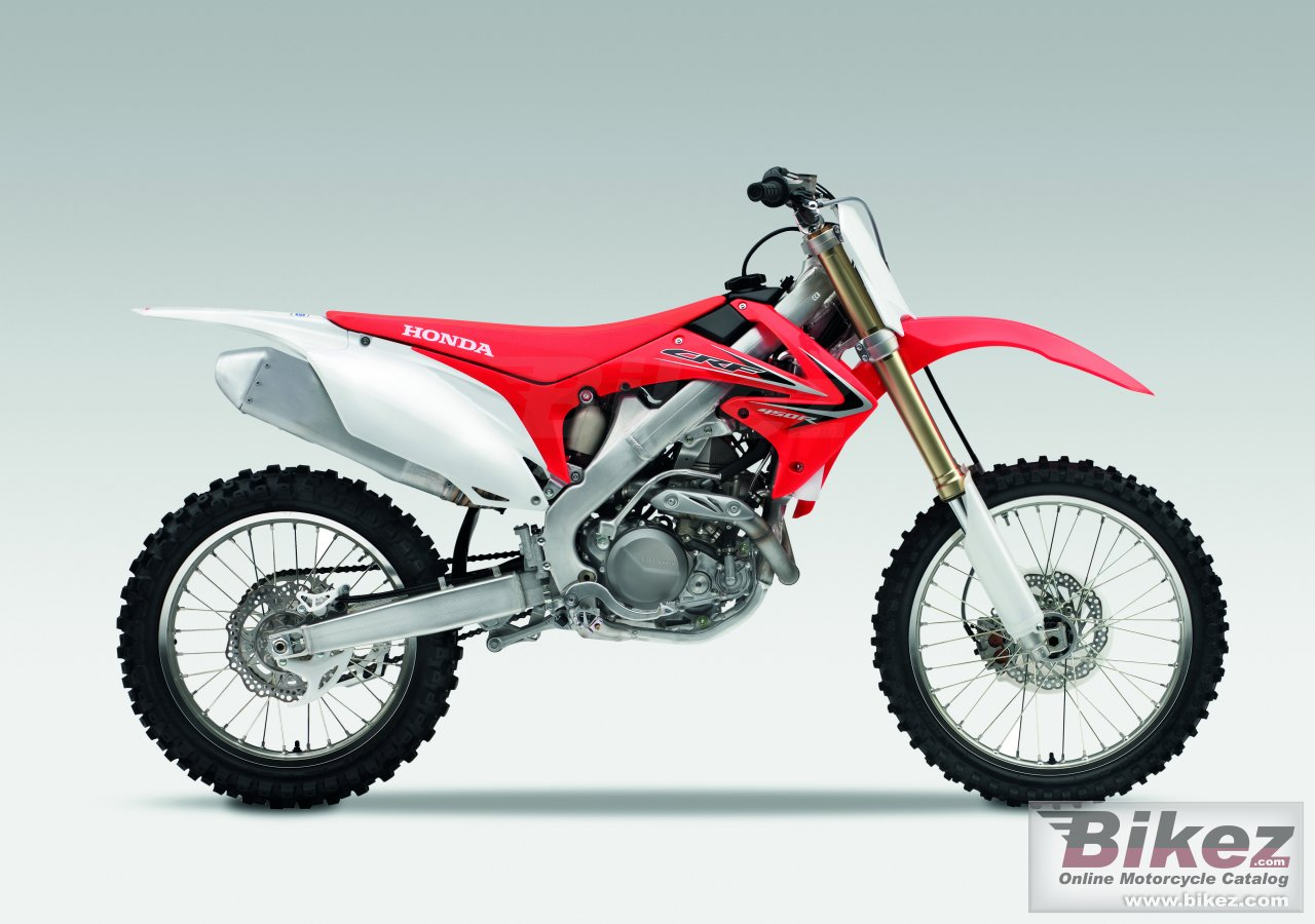 Big Honda crf450r picture and wallpaper from Bikez.com