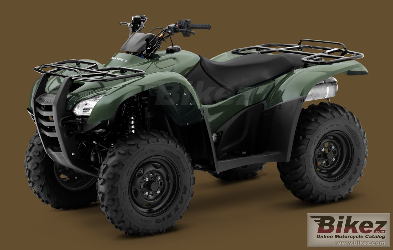 Honda fourtrax rancher es