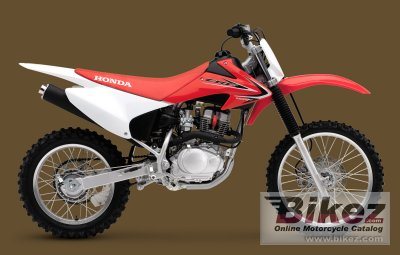 2012 Honda CRF150F specifications and pictures