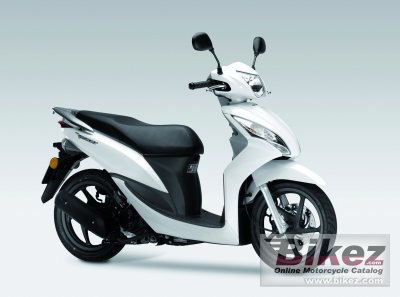 Verrassend 2012 Honda Vision 50 specifications and pictures UF-64