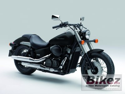 2012 Honda VT750C2B Shadow Black Spirit