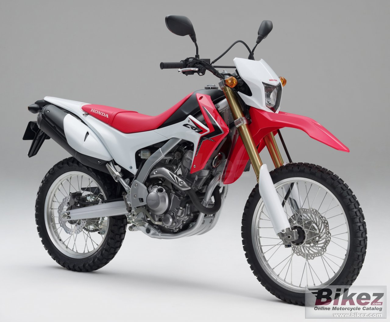Big Honda crf250l picture and wallpaper from Bikez.com