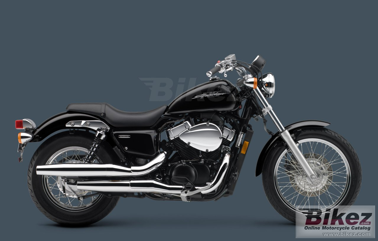 Big Honda shadow rs picture and wallpaper from Bikez.com