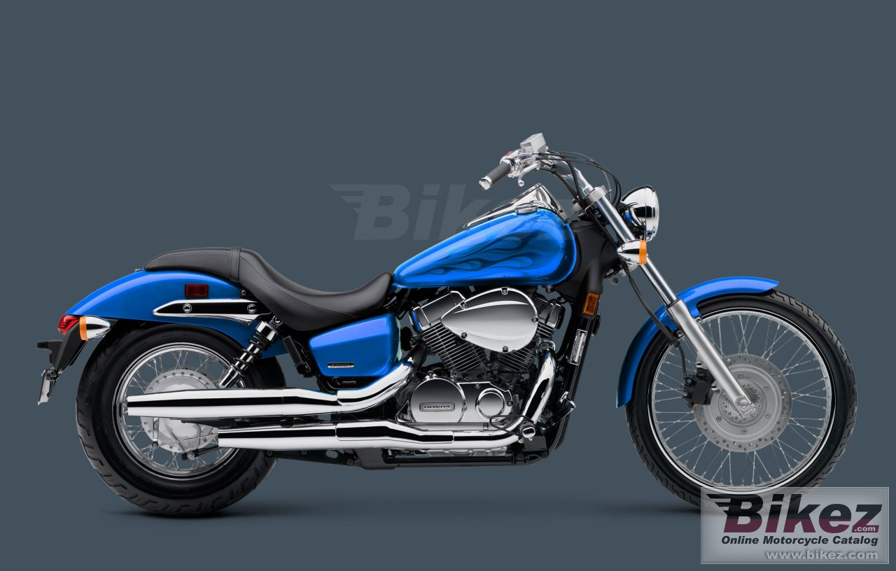 Big Honda shadow spirit 750 picture and wallpaper from Bikez.com