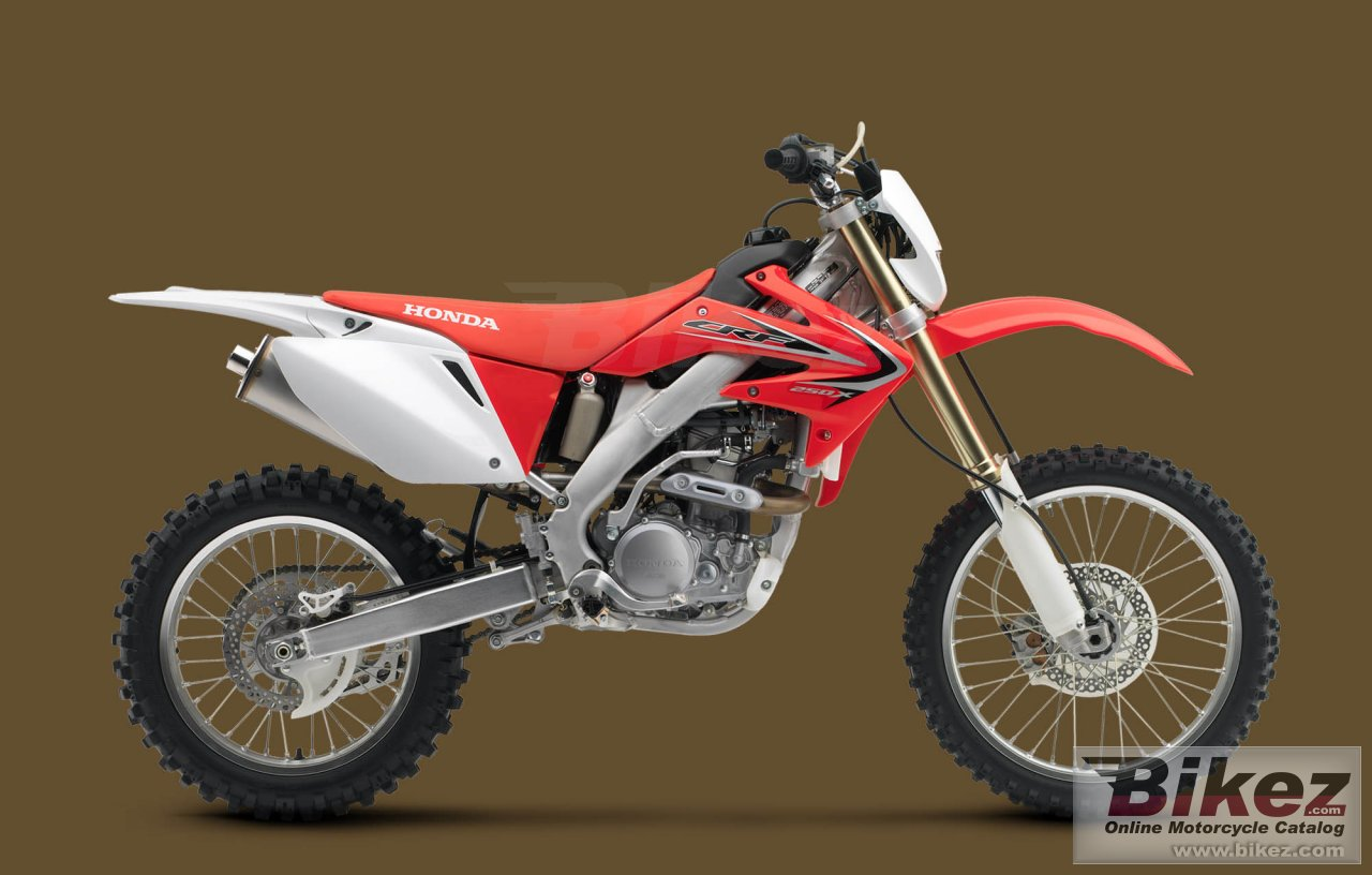 Big Honda crf250x picture and wallpaper from Bikez.com