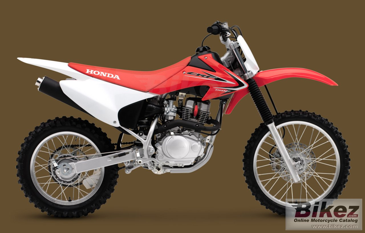 Big Honda crf150f picture and wallpaper from Bikez.com