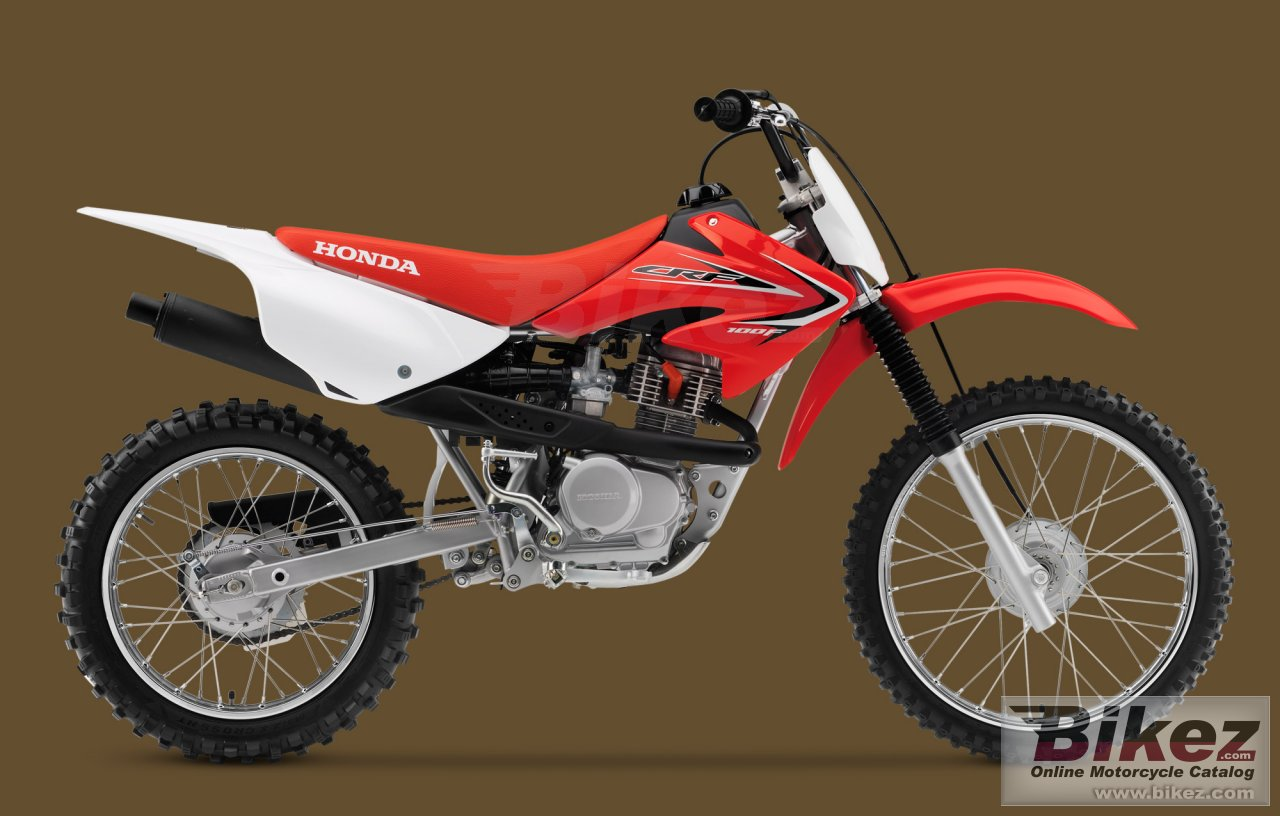 Big Honda crf100f picture and wallpaper from Bikez.com