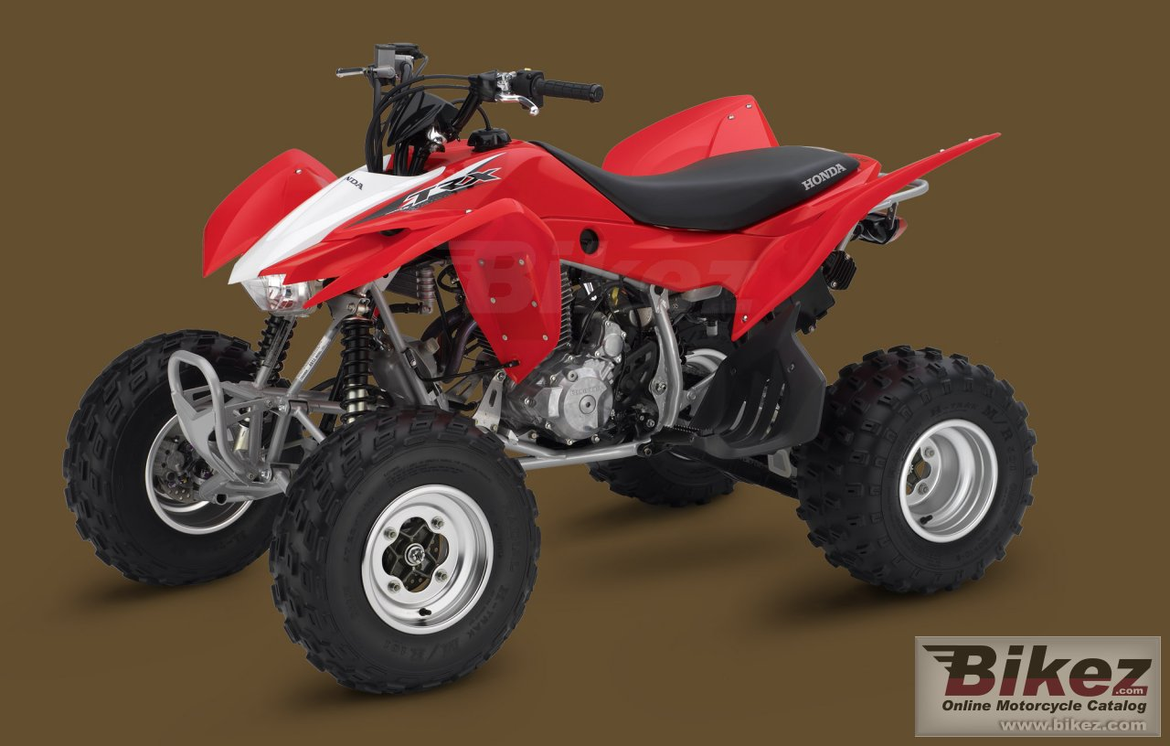 Big Honda trx400x picture and wallpaper from Bikez.com