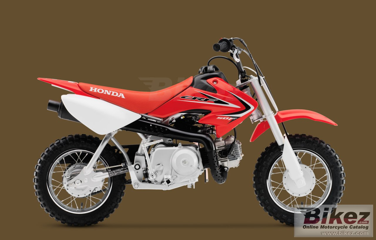 Big Honda crf50f picture and wallpaper from Bikez.com