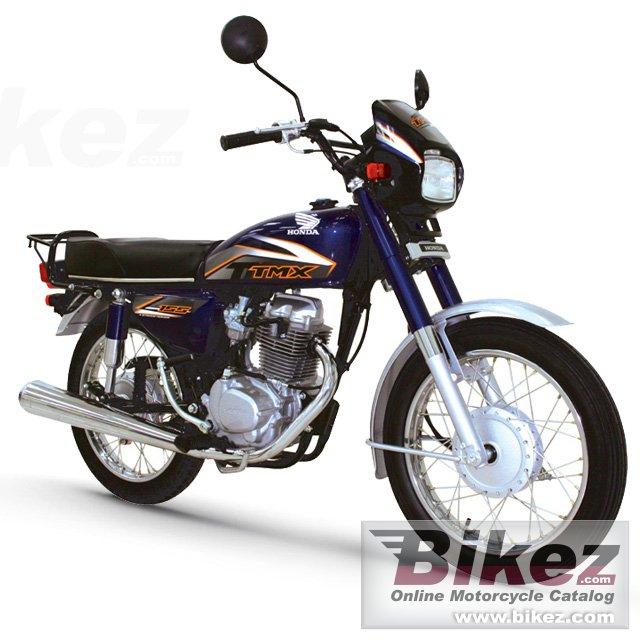 Big Honda tmx 155 picture and wallpaper from Bikez.com