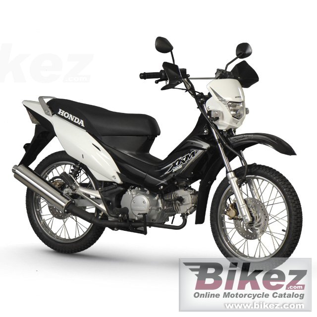 Big Honda xrm 125 off-road picture and wallpaper from Bikez.com