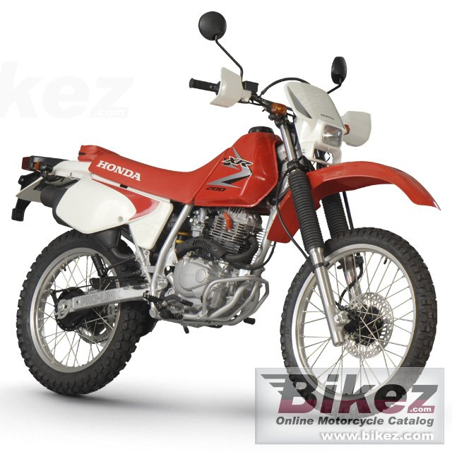 Big Honda xr 200 picture and wallpaper from Bikez.com