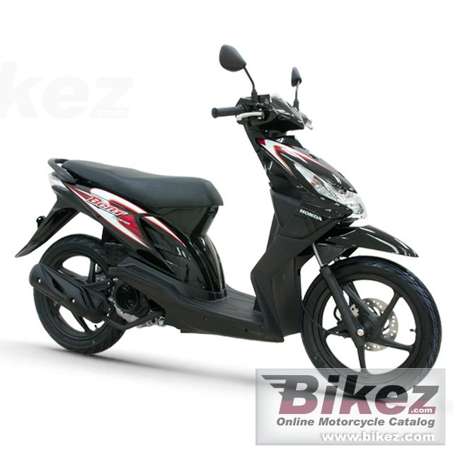 Big Honda beat scooter picture and wallpaper from Bikez.com