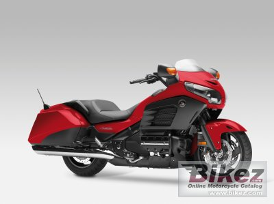 2013 Honda Gold Wing F6B specifications and pictures