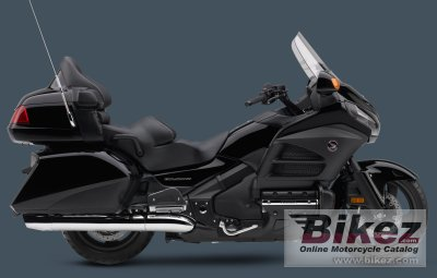 2014 Honda Gold Wing Airbag