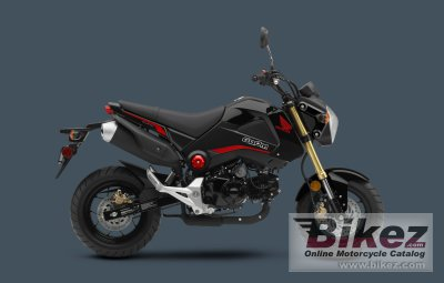 2015 Honda Grom >> 2015 Honda Grom 125 Specifications And Pictures