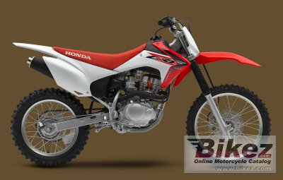 2018 Honda CRF150F specifications and pictures