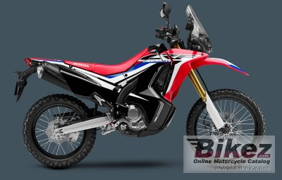 2018 Honda Crf250l Rally Specifications And Pictures