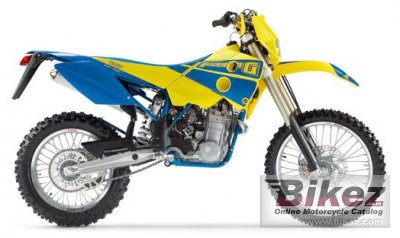 2004 HUSABERG FE 450380 E-6 YELLOW/BLUE not KTM 450EXC