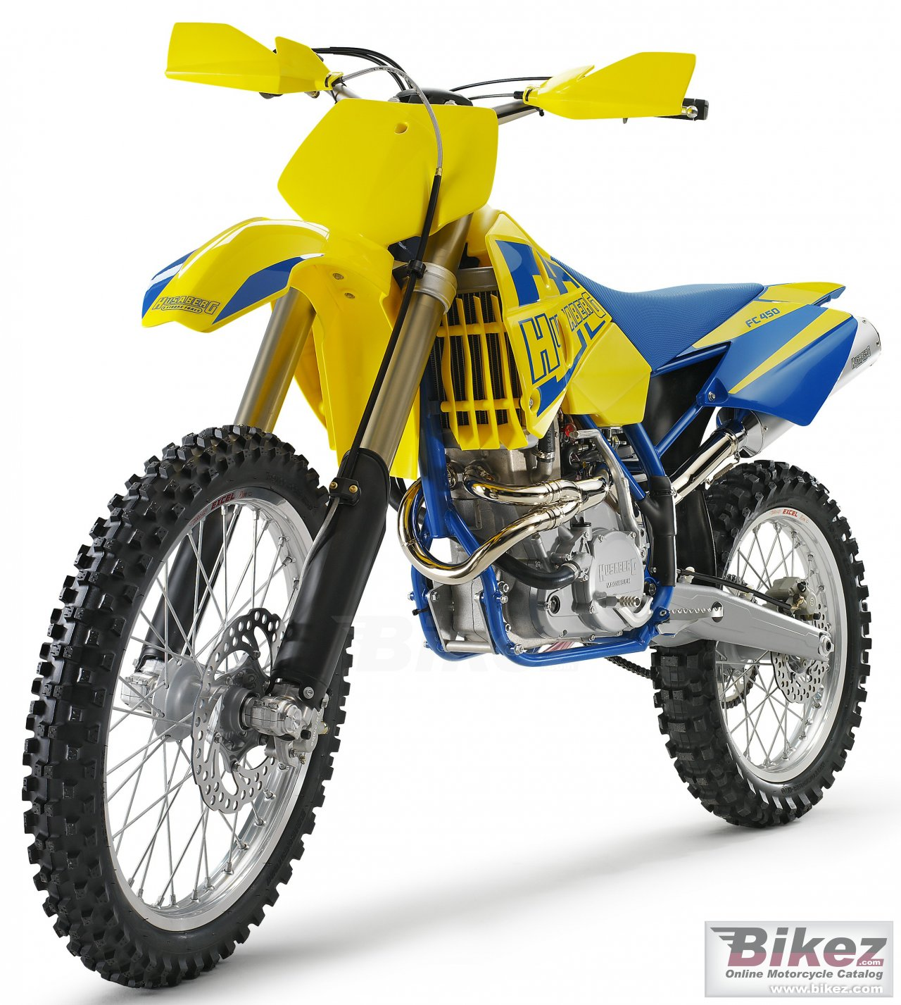 Big Husaberg fc 450 picture and wallpaper from Bikez.com