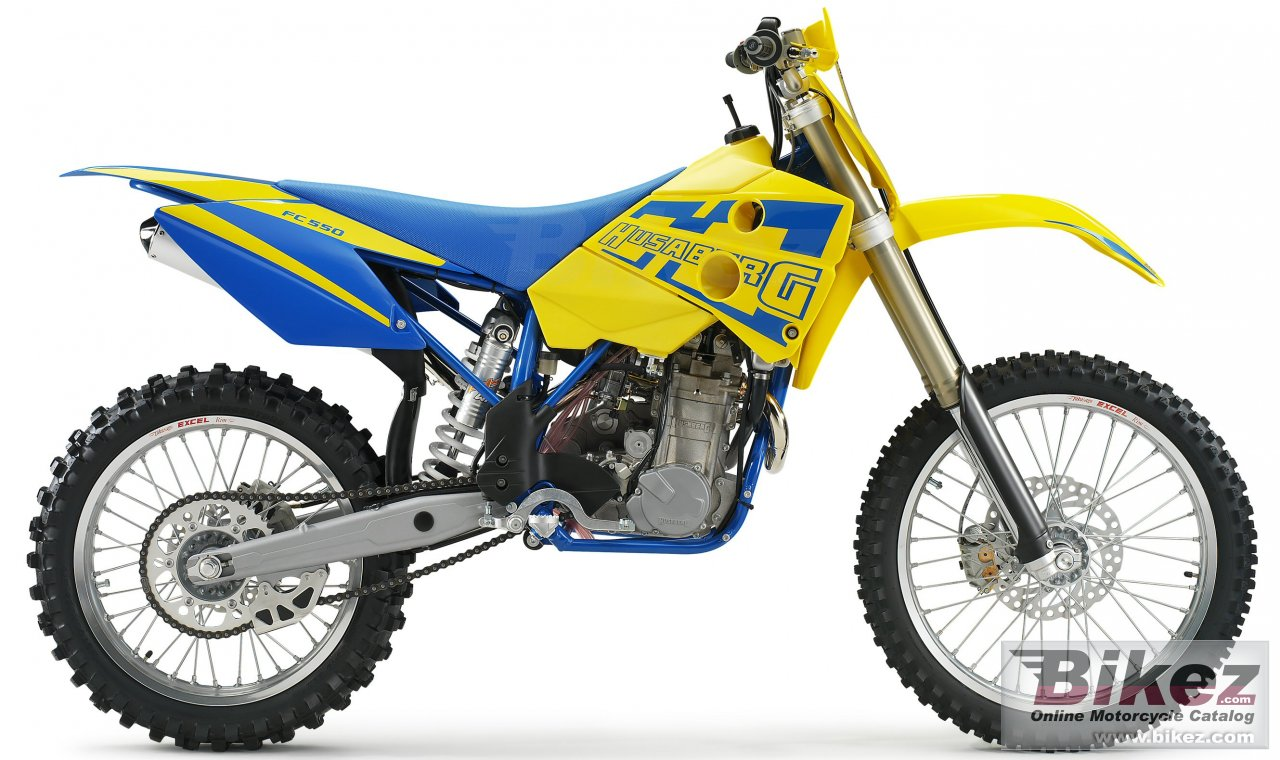 Big Husaberg fc 550 picture and wallpaper from Bikez.com