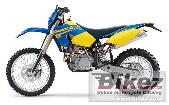 Big Husaberg fe 550 e picture and wallpaper from Bikez.com