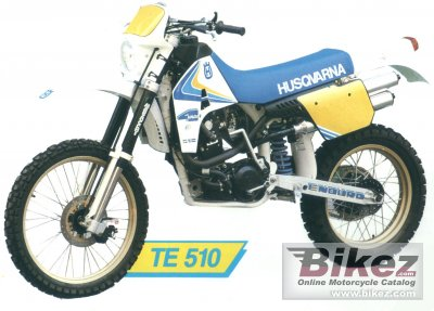 1989 Husqvarna 510 TE photo